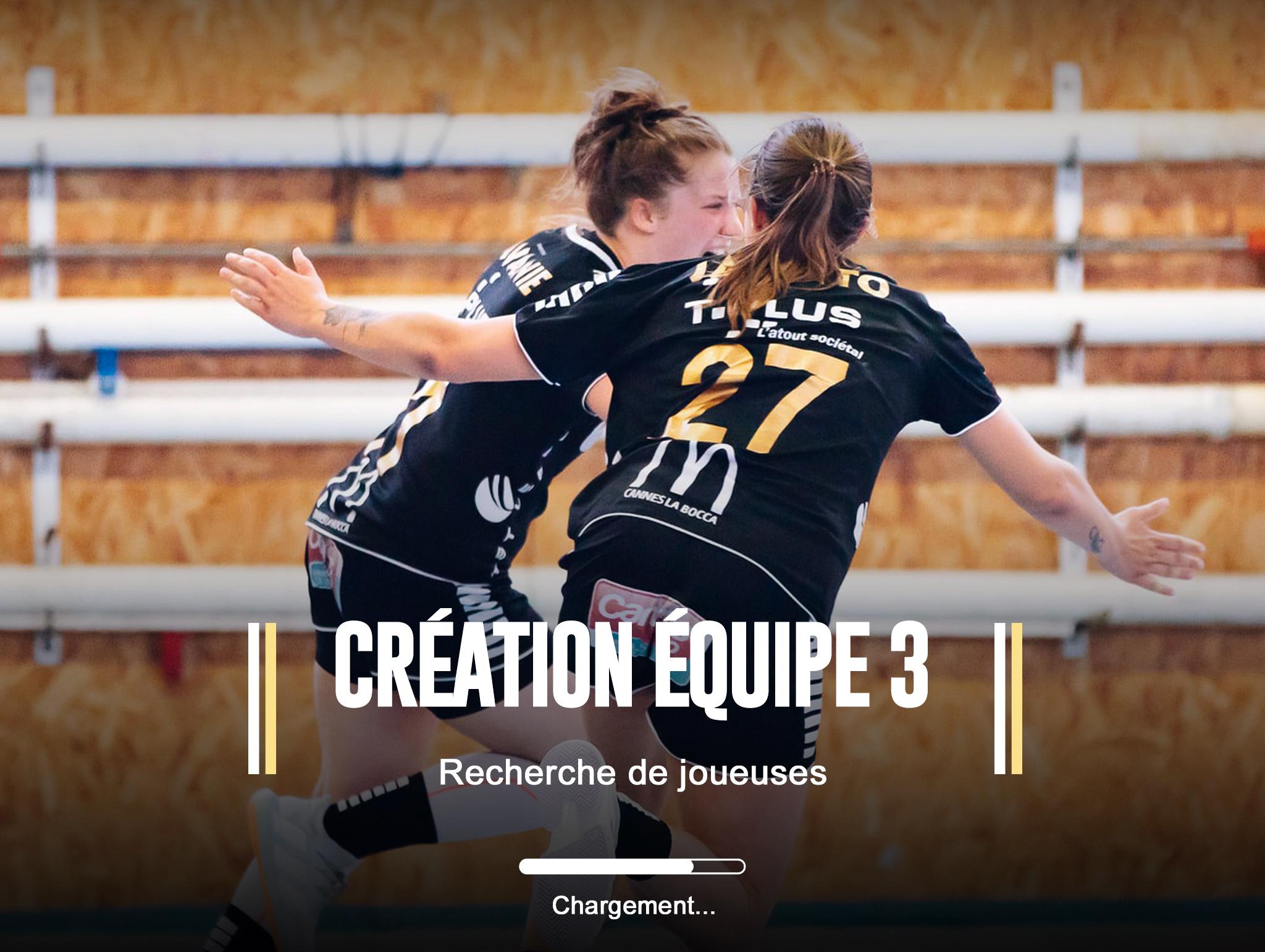CRÉATION ÉQUIPE 3