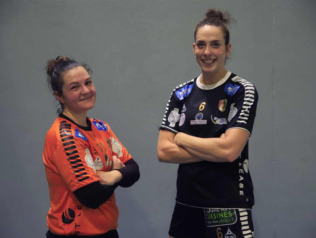 Départ Aline Scolastica et Anna Manaut